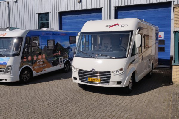 Carthago C Tourer met Super B Epsilon Lithium accu