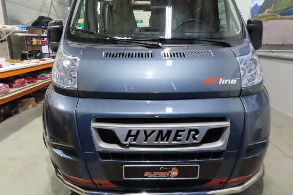 Hymer Car 322 GTline met Super B Epsilon